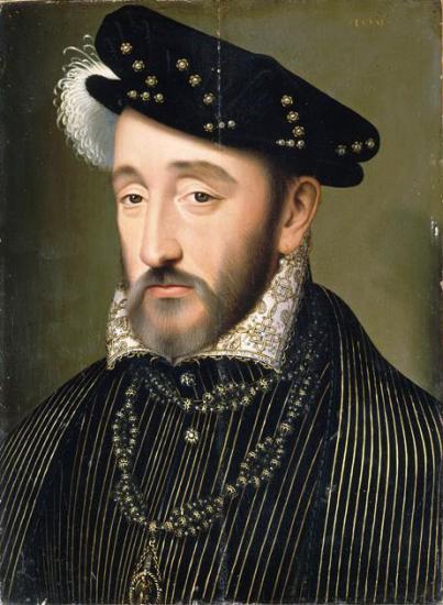Henri II de France par François Clouet