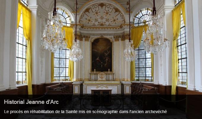 Cliquez sur l'image pour accéder à la fiche sortie de l'historial Jeanne d'Arc