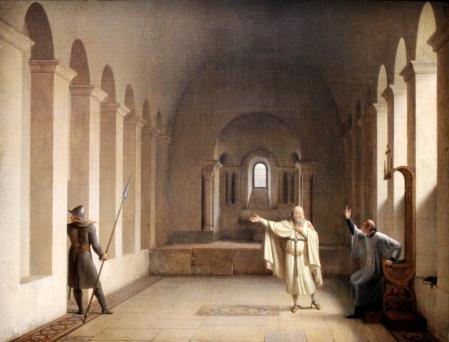 Jacques de Molay, Grand Maître des Templiers par Fleury Richard