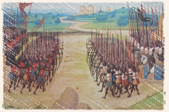 La bataille d'Azincourt - 25 octobre 1415