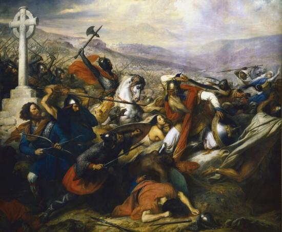 La bataille de Poitiers - 732 - par Steuben