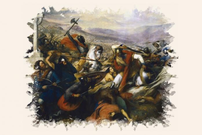 La bataille de Poitiers - Steuben