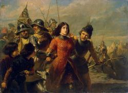 La capture de Jeanne d'Arc par Adolphe-Alexandre Dillens