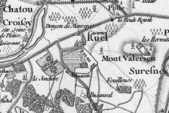 Pour localiser château de la Malmaison, cliquez sur la carte
