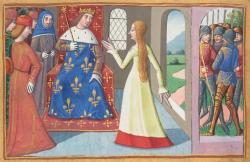 La rencontre entre Jeanne d'Arc et Charles VII à Chinon - Vigiles du roi Charles VII