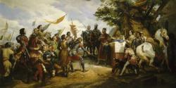 La bataille de Bouvines par Horace Vernet