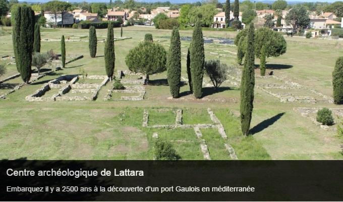 Cliquez sur l'image pour accéder à la fiche sortie du site archéologique de Lattara