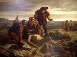 Le corps de Charles le Téméraire retrouvé après la bataille de Nancy en 1477