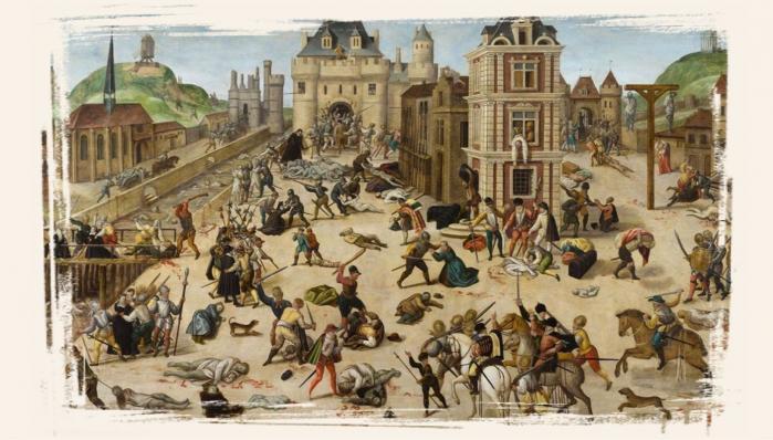 Le massacre de la Saint-Barthélemy (24 août 1572) par Francois Dubois