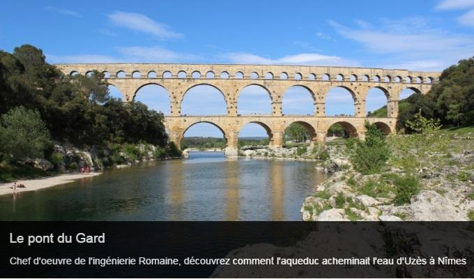 Cliquez sur l'image pour accéder à la fiche sortie du pont du Gard
