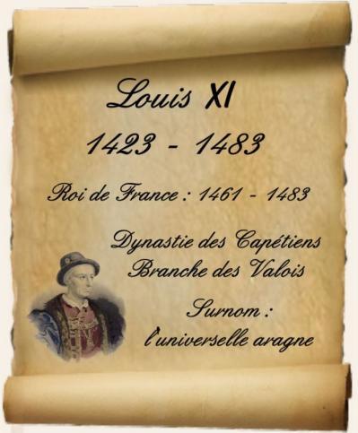 Louis XI - L'universelle aragne