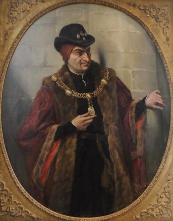 Louis XI porteur du collier de l'ordre de Saint Michel par Georges A.L. Boisselier