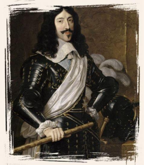 Louis XIII par Philippe de Champaigne