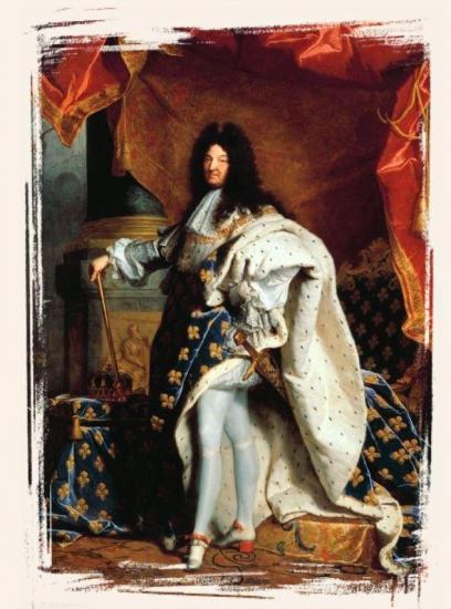 Louis XIV par Hyacinthe Rigaud - Roi de France de 1643 à 1715