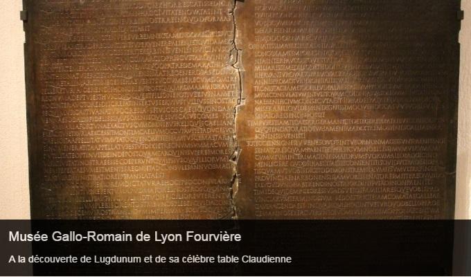 Cliquez sur l'image pour accéder à la fiche sortie du musée gallo-romain de Lyon Fourvière