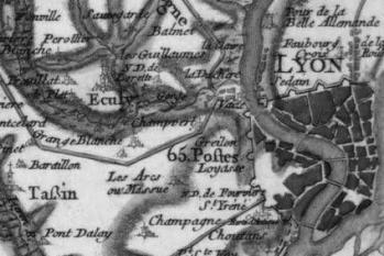 Pour localiser le musée Gallo-Romain de Lyon-Foruvière, cliquez sur la carte
