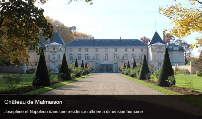 Cliquez sur l'image pour accéder à la fiche sortie du château de la Malmaison