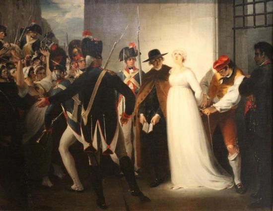 Marie-Antoinette quittant la conciergerie le 16 octobre 1793 - William Hamilton