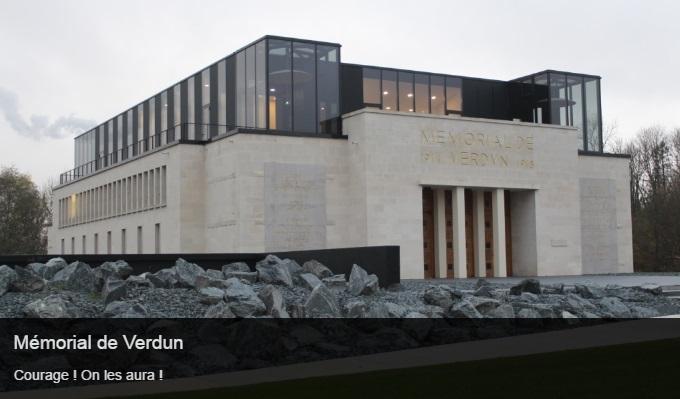 Cliquez sur l'image pour accéder à la fiche sortie du mémorial de Verdun