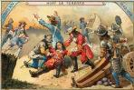 Mort de Turenne a la bataille de Salzbach