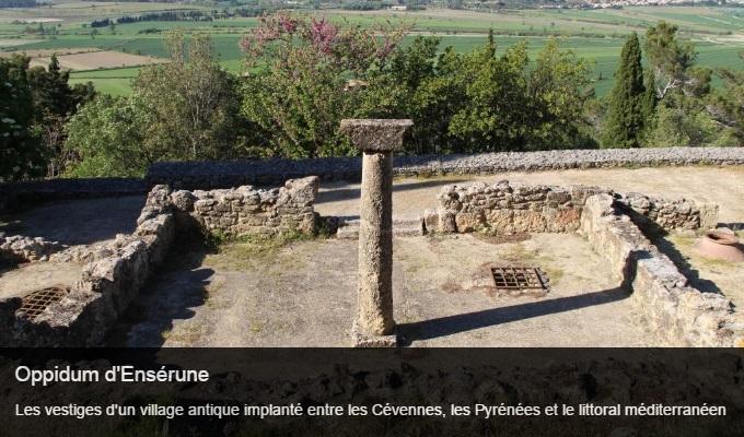 Cliquez sur l'image pour accéder à la fiche sortie de l'oppidum d'Ensérune