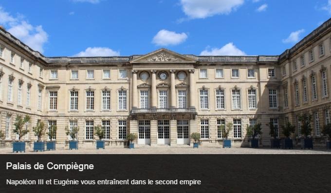 Cliquez sur l'image pour accéder à la fiche sortie du Palais de Compiègne