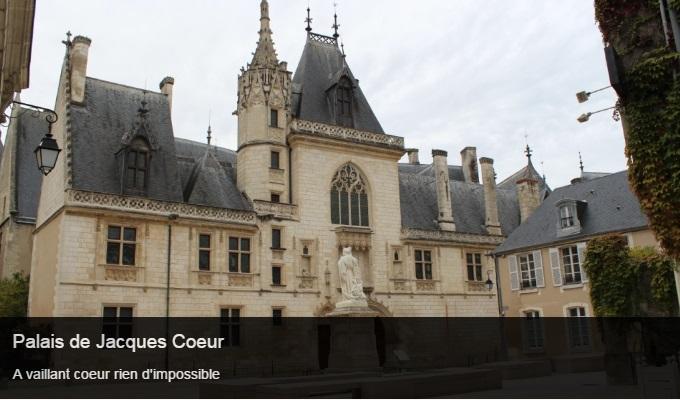 Cliquez sur l'image pour accéder à la fiche sortie du palais de Jacques Coeur