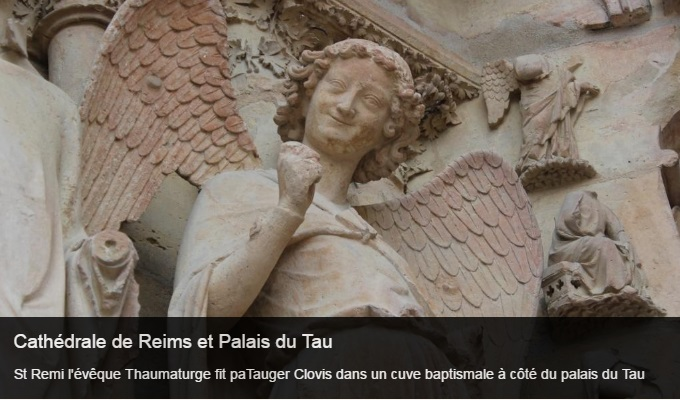 Cliquez sur l'image pour accéder à la fiche sortie de la cathédrale Notre Dame de Reims et du palais du Tau
