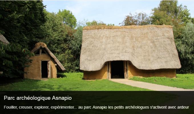 Cliquez sur l'image pour accéder à la fiche sortie du parc archéologique Asnapio