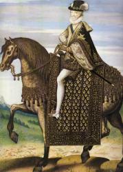 Portrait équestre de Henri IV