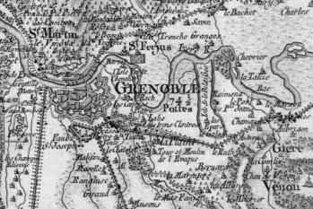 Pour localiser le musée archéologique de Grenoble Saint Laurent, cliquez sur la carte