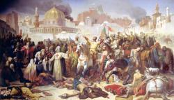 Prise de Jérusalem par les croisés le 15 juillet 1099 - Emile Signol