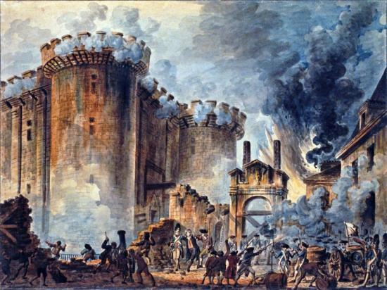 Prise de la bastille par Jean-Pierre Houël