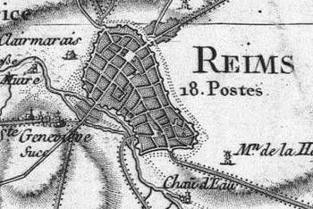 Pour localiser le palais du Tau, cliquez sur la carte