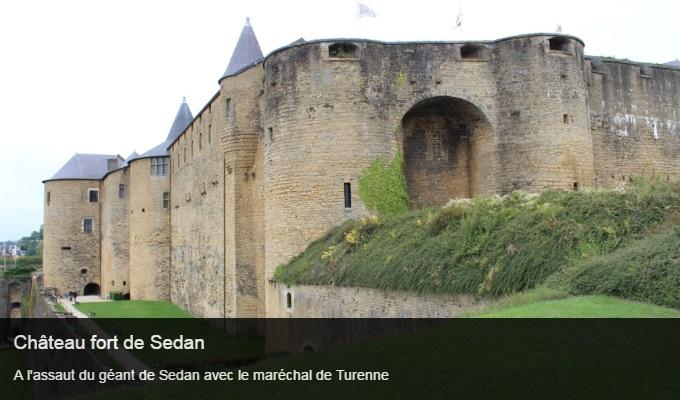 Cliquez sur l'image pour accéder à la fiche sortie de la forteresse de Sedan
