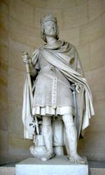 Statue de Charles Martel - Galerie du Château de Versailles