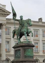 Statue de Godefroy de Bouillon - Bruxelles