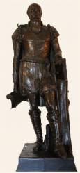Statue de Sully au château de Pau