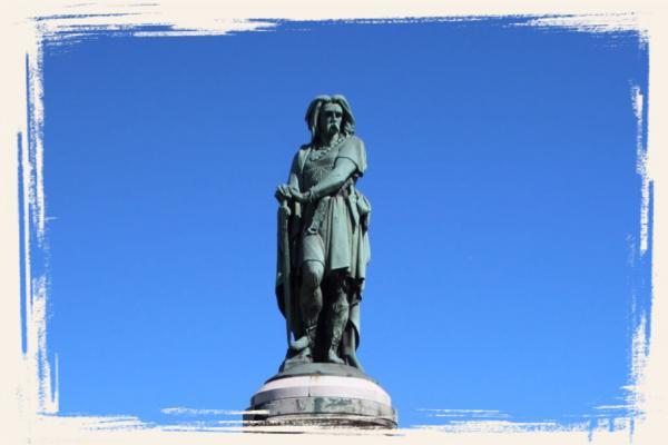 Statue de Vercingétorix à Alise Sainte Reine