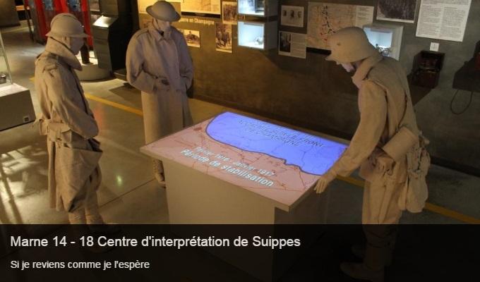 Cliquez sur l'image pour accéder à la fiche sortie du centre d'interprétation de Marne 14-18 de Suippes