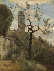 Tour de Montlhéry par Camille Corot