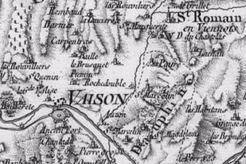 Pour localiser le site et le musée archéologique Théo Desplans de Vaison la Romaine, cliquez sur la carte