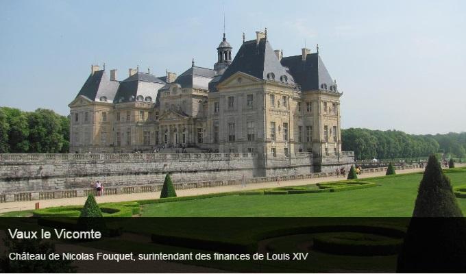 Cliquez sur l'image pour accéder à la fiche sortie du château de Vaux le Vicomte