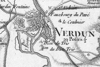 Pour localiser le mémorial de Verdun, cliquez sur la carte