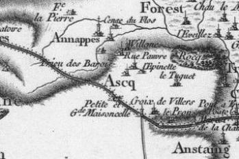 Pour localiser le parc archéologique d'Asnapio, cliquez sur la carte