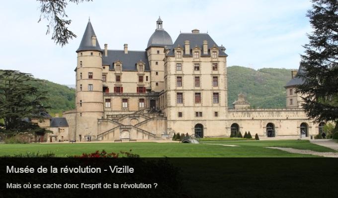 Cliquez sur l'image pour accéder à la fiche sortie du musée de la révolution - Vizille