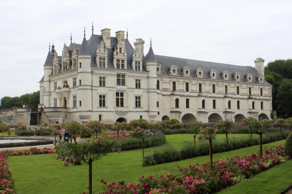Ch teau de chenonceau for Le jardin de catherine com